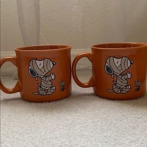 Peanuts Snoopy Mummy mug set